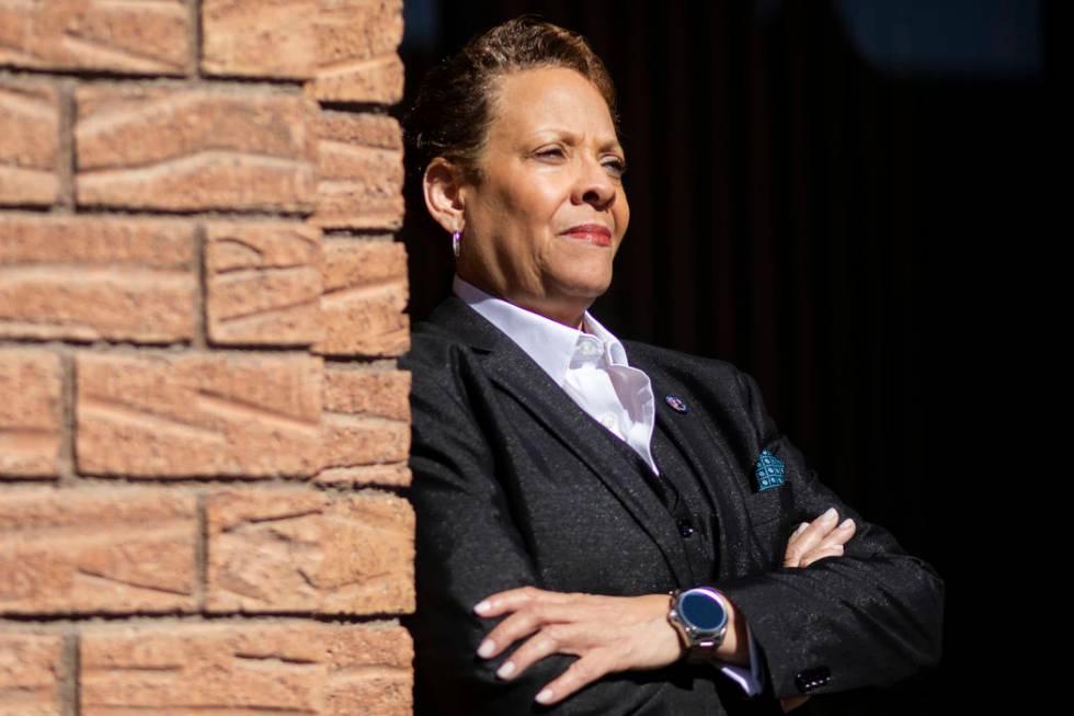 Nevada state Sen. Pat Spearman, D-North Las Vegas, pushed to get the Nevada Legislature to rati ...