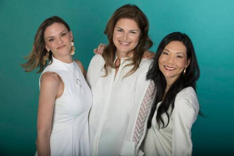 Jolene Mannina, from left, Elizabeth Blau and Mary Choi Kelly are the driving force behind the ...