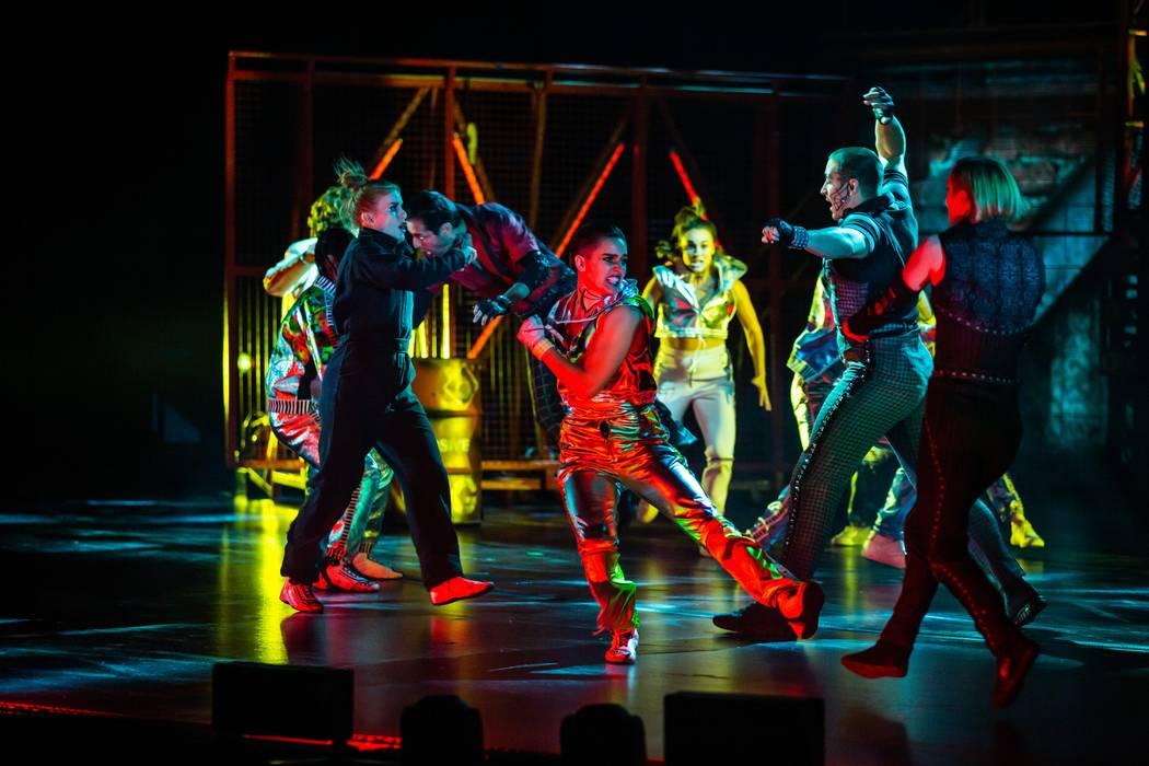 Cirque's Las Vegas Strip experiment 'R.U.N' closing March 8