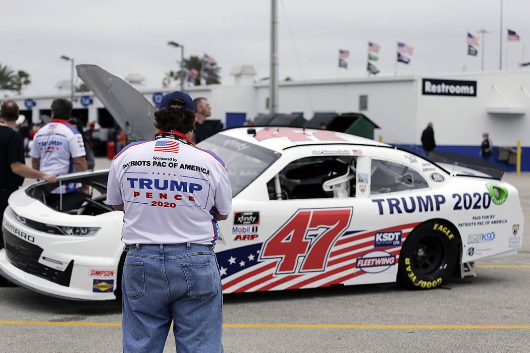 Trump Making Pit Stop At Daytona 500 Before Heading West Las Vegas Review Journal