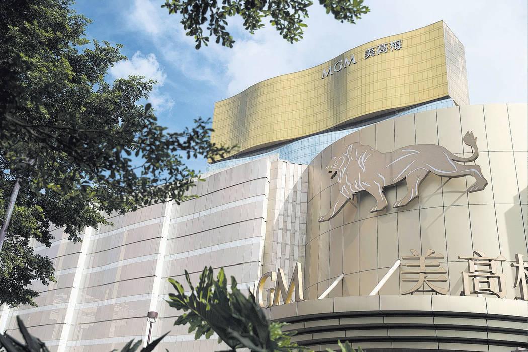 MGM Grand Macau in China. (Erik Verduzco/Las Vegas Review-Journal) @Erik_Verduzco