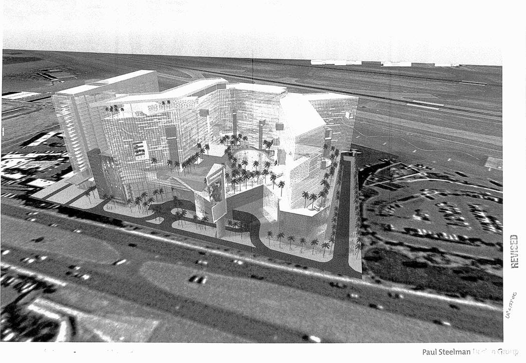Florida developer Daniel Kodsi drew up plans during the mid-2000s for a project on the south ed ...