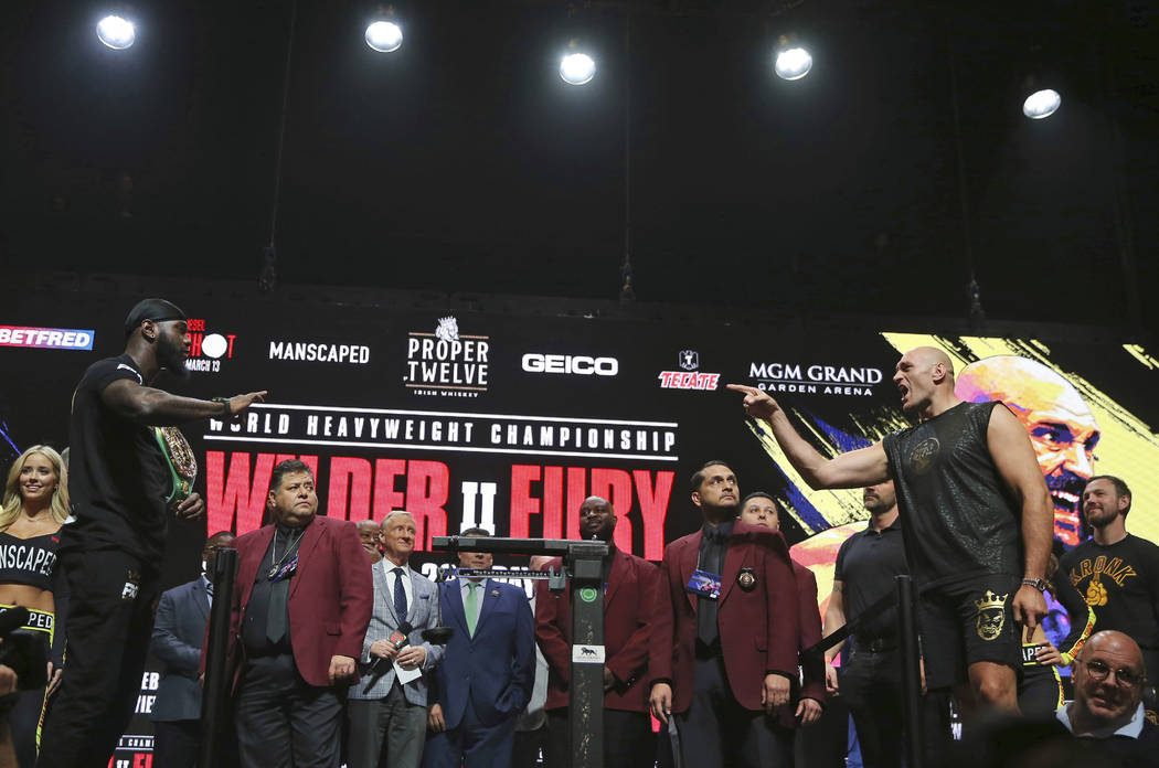 Wilder, Fury bring marquee heavyweight boxing back to...