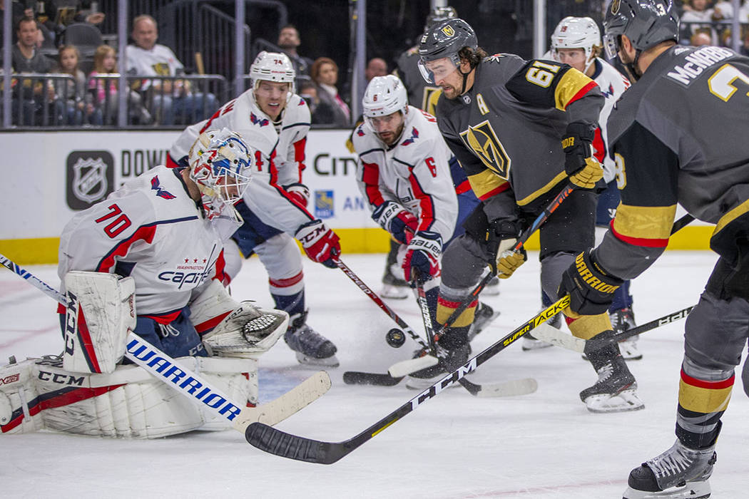 Golden Knights giving William Karlsson's line extra responsibility