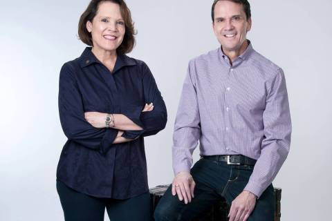 Robin and Robert Smith of Smith Team at Keller Williams Realty Las Vegas operate the Nevada Bui ...