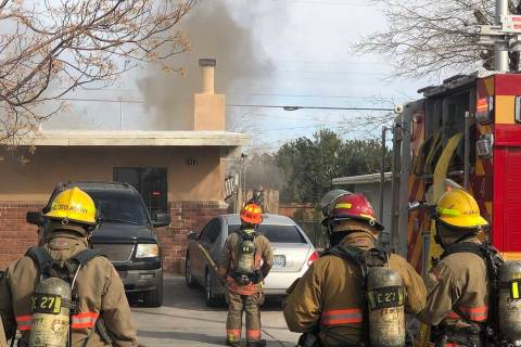 Firefighters battled a house fire at 2417 Howard Drive on Tuesday morning. No one was injured. ...