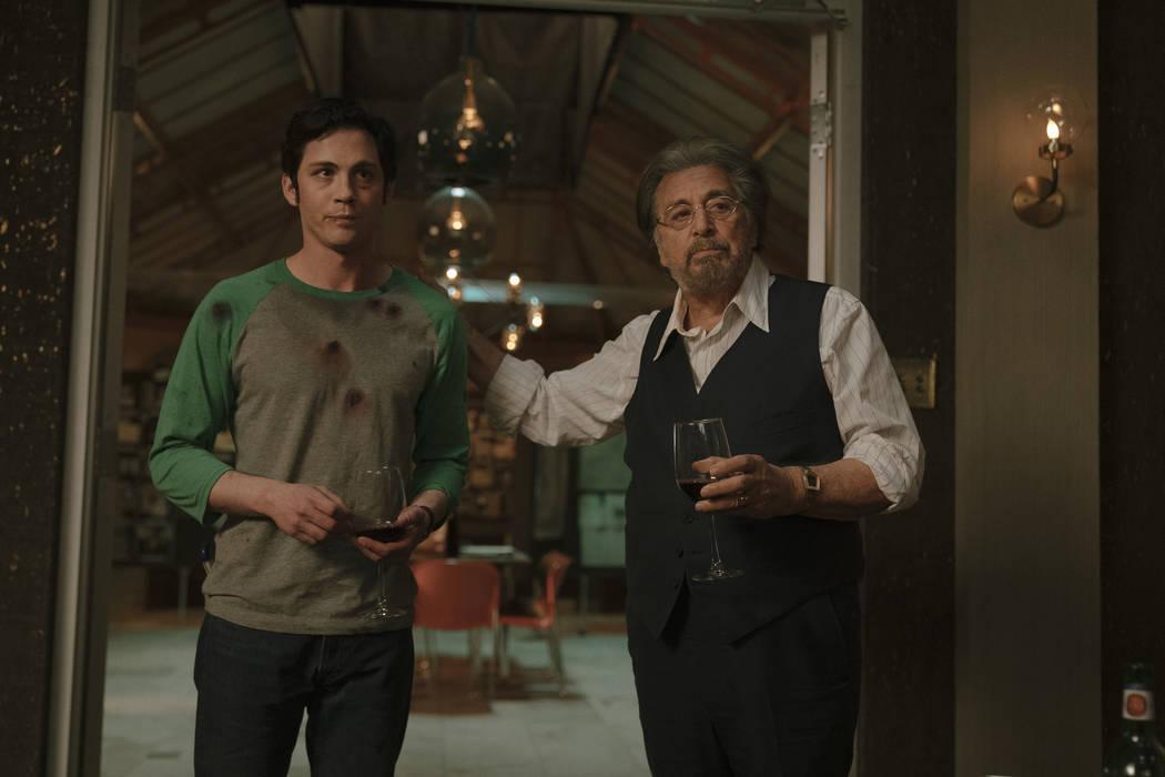 """Logan Lerman and Al Pacino star in """"Hunters."""" (Christopher Saunders/Amazon Studios)"""