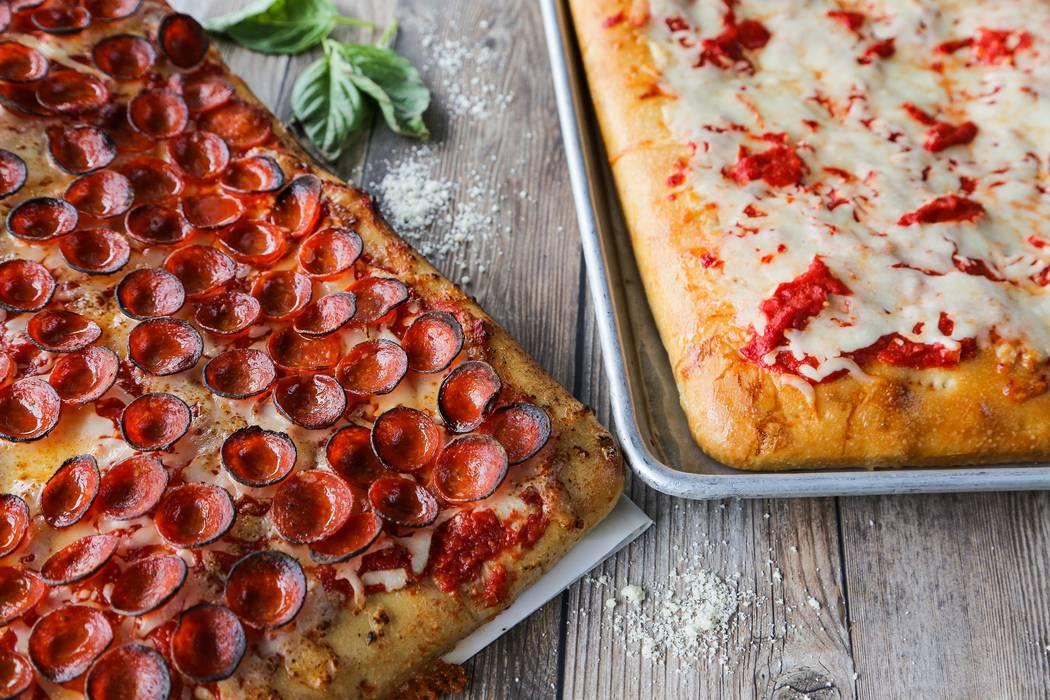 Two Sicicilan pizzas at PizzaCake (PizzaCake)