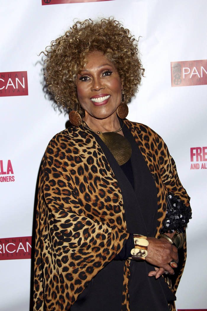 """In this Feb. 17, 2013, photo, Ja'Net DuBois attends Los Angeles Premiere of """"Free Angela a ..."""