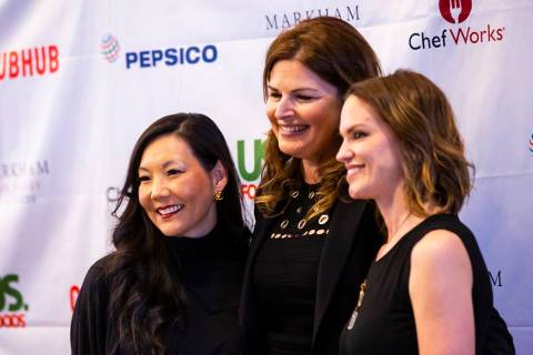 Mary Choi Kelly, left, of MCK Leadership Talent Group and co-founder of Women's Hospitality Ini ...