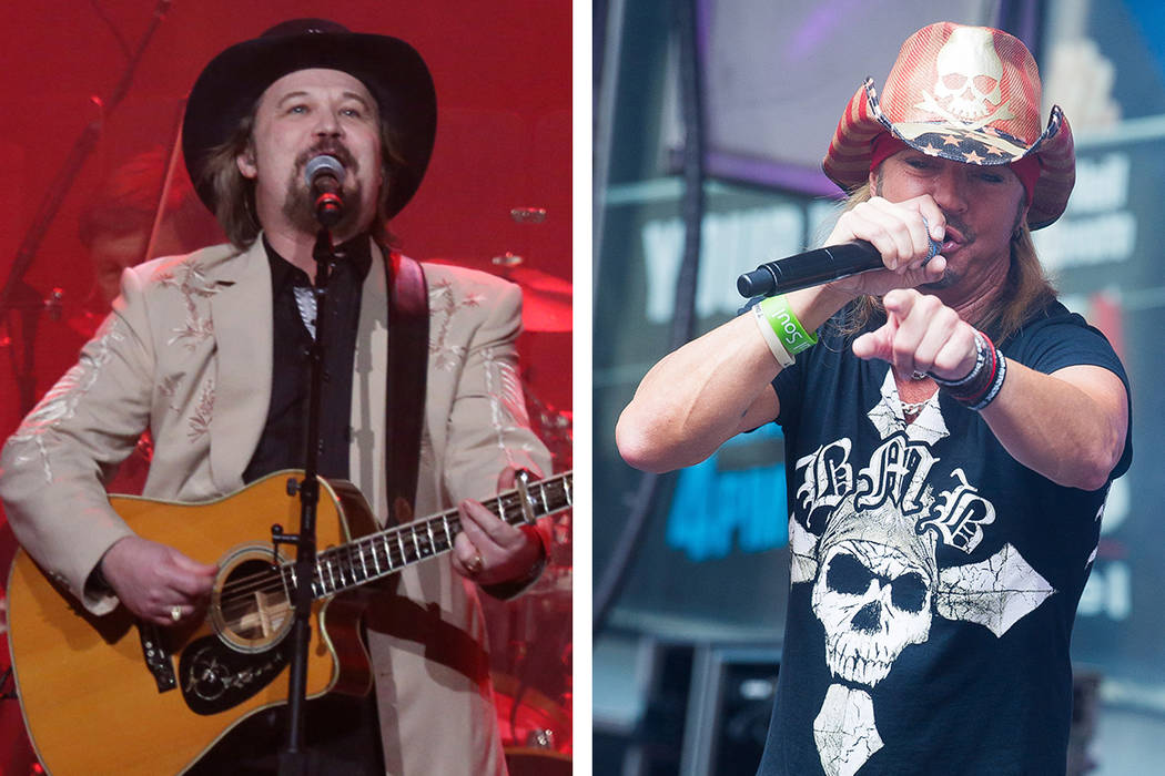 The Smith Center for the Performing Arts will present an evening with Travis Tritt, left, on Tu ...