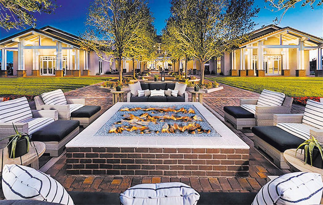 Lennar Heritage Recreation Center is the social hub for Lennar's age-qualified community in Ca ...