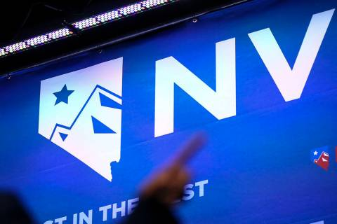 The Nevada Democratic Party will hold its caucuses on Saturday, Feb. 22, 2020. (Chase Stevens/L ...
