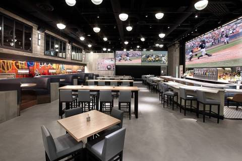 Blvd & Main Taphouse in The Strat will soon be a PT's Wings & Sports (Golden Entertainment)