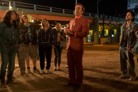Bob Odenkirk as Jimmy McGill. (Warrick Page/AMC/Sony Pictures Television)
