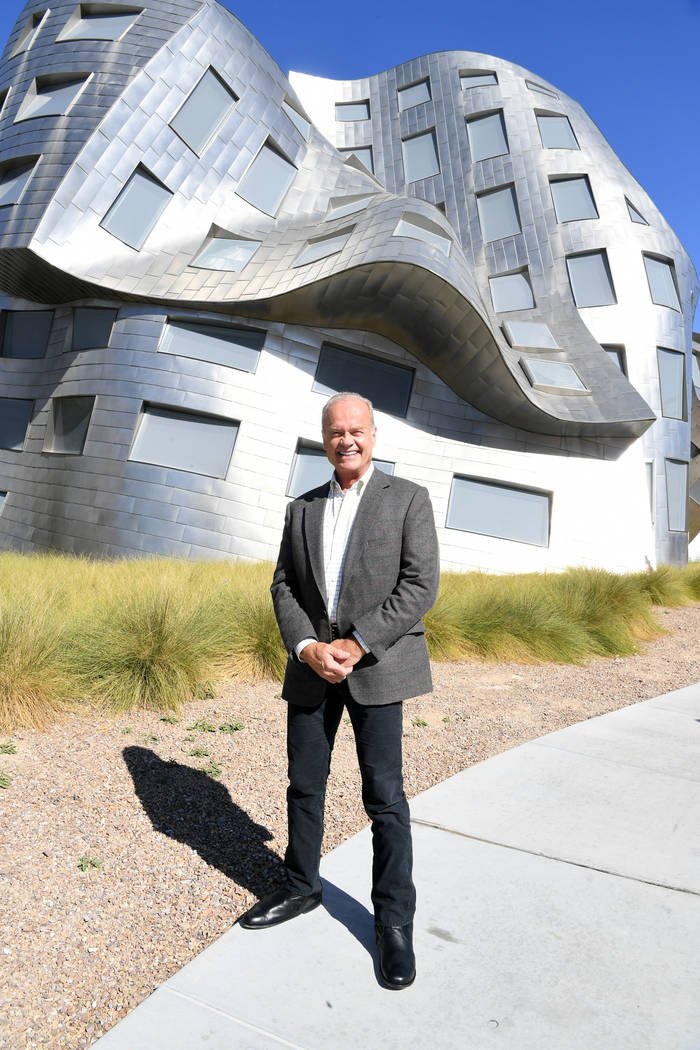 Actor Kelsey Grammer poses for a photo during a tour of the Keep Memory Alive Event Center And ...