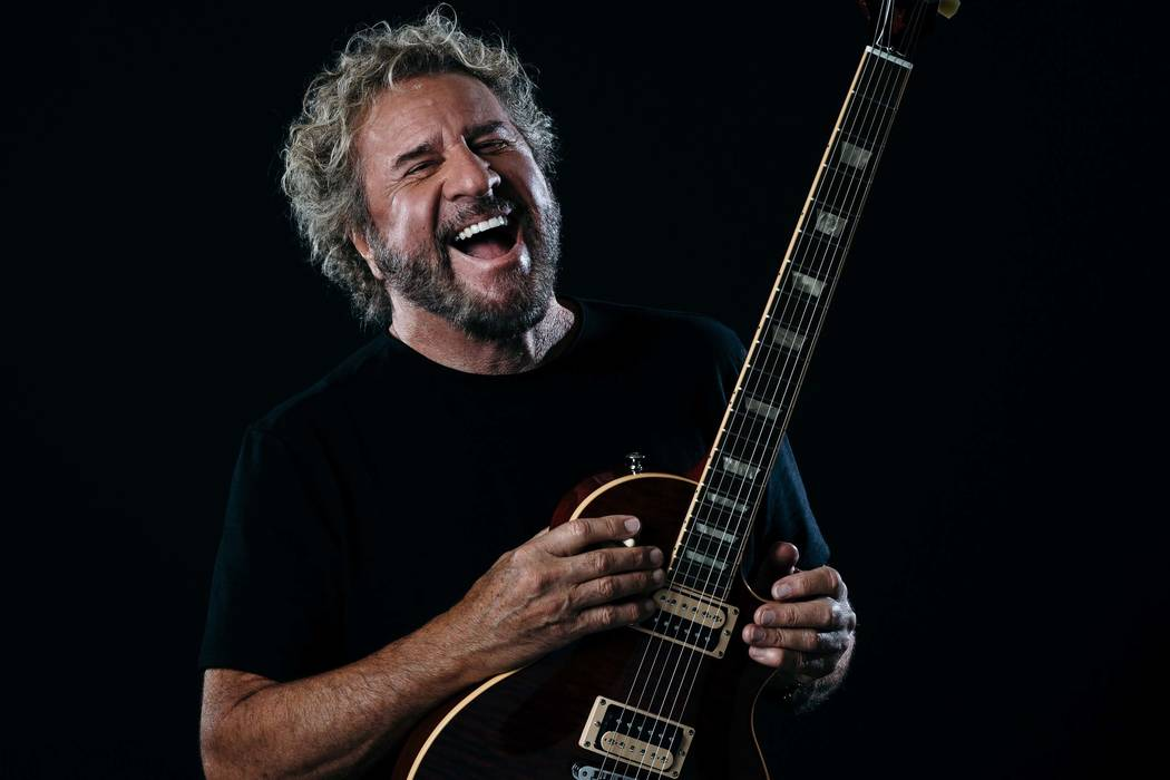 Sammy Hagar will make an appearance at The Strat on Jan. 22, 2020. (Leah Steiger)