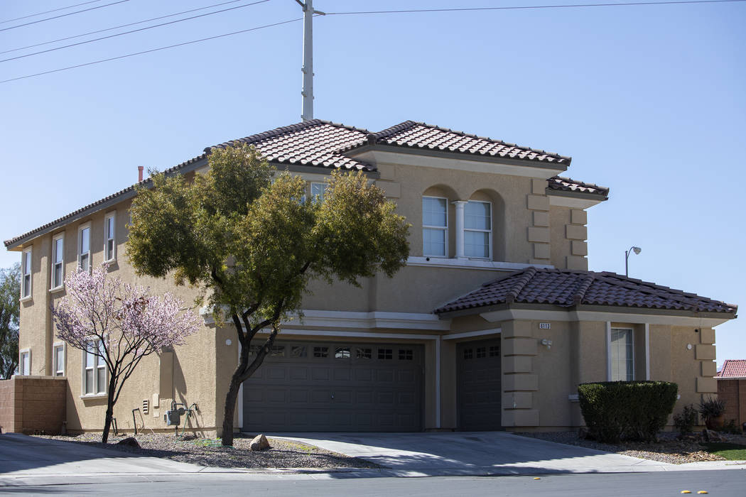 Local landlord Adolfo Orozco bought this North Las Vegas home in 2007. Records indicate he relo ...