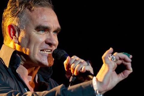 Morrissey plays a five-show series a series at the Colosseum at Caesars Palace running from Jun ...