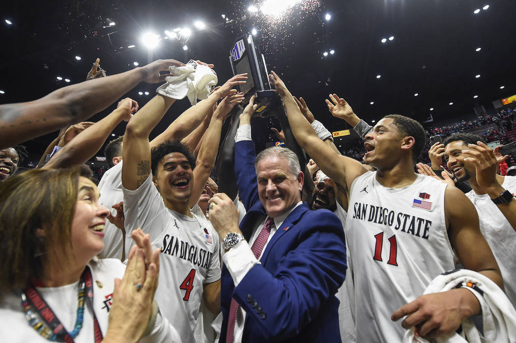 UNLV hopes to repeat history, shock San Diego State