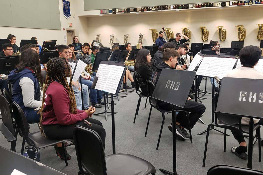 Rancho High school's band faces a new roadblock as it strives to reach even higher levels — t ...