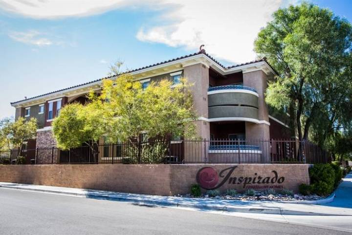 NNC Apartment Ventures acquired the 252-unit Inspirado apartment complex in Las Vegas, seen her ...