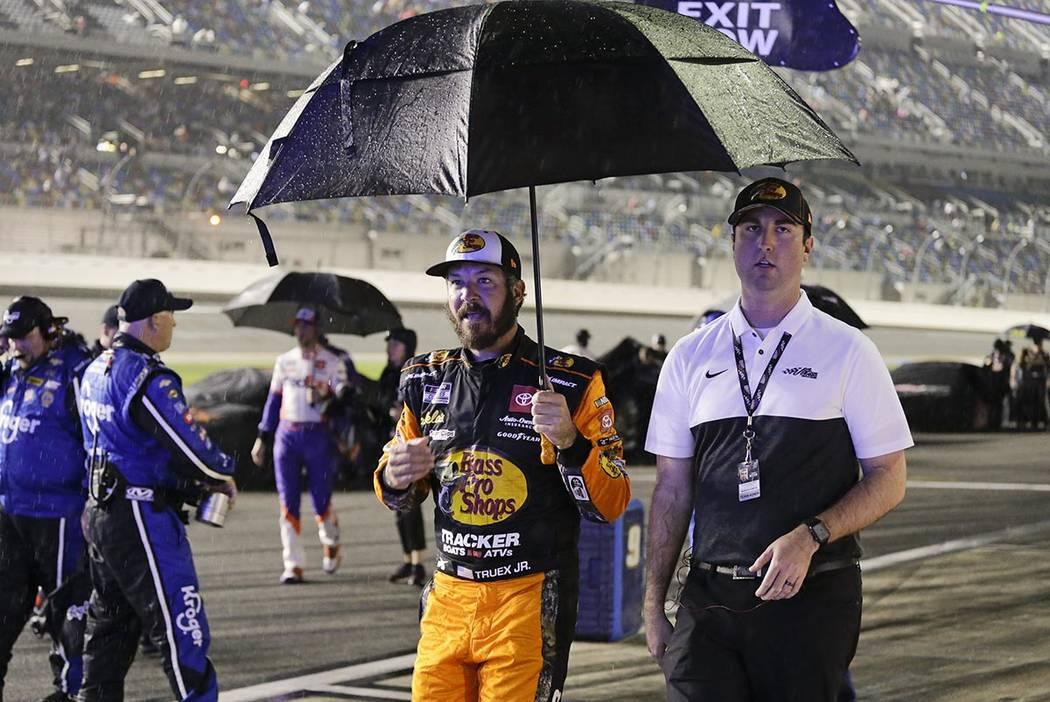 NASCAR Xfinity race postponed until Sunday