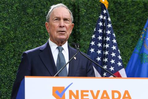 Michael Bloomberg (Las Vegas Review-Journal)