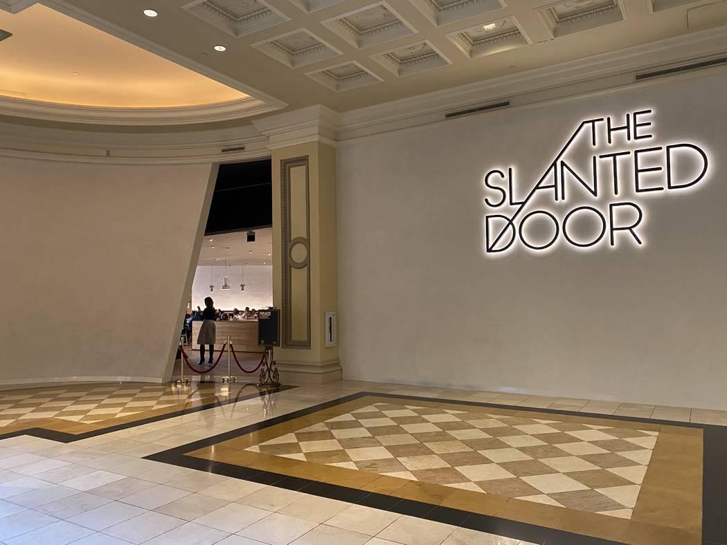 Slanted Door Las Vegas Menu Revealed Video Las Vegas