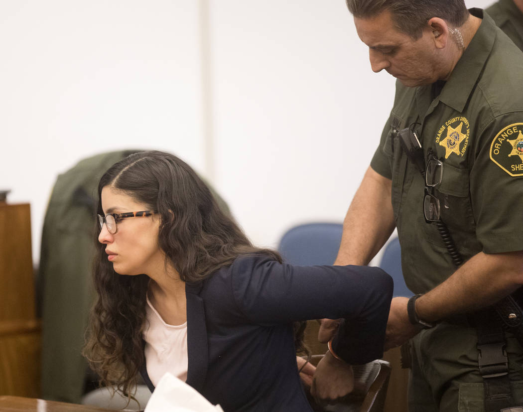 Bani Duarte, who was convicted of second-degree murder for causing a crash in 2018 in Huntingto ...