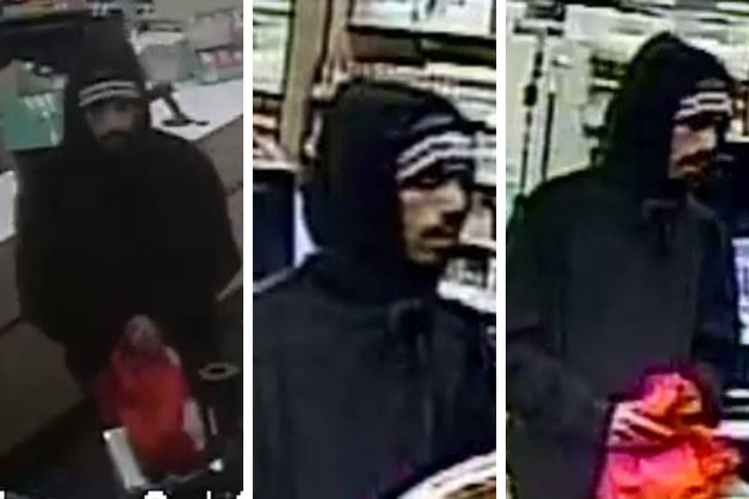 Police are searching for a man in connection to an armed robbery that occurred Monday, Feb. 24, ...