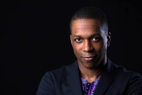 In this June 17, 2016 photo, Tony Award winner Leslie Odom Jr. poses for a portrait in New York ...