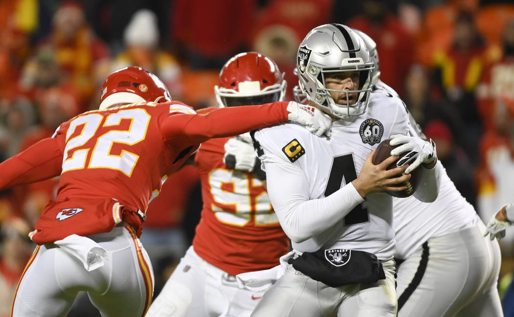 exclusive shoes large discount cozy fresh Raiders-Chiefs rivalry: 5 things to know | Las Vegas Review-Journal