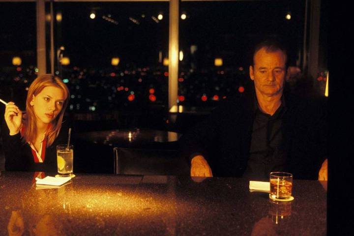 Bill Murray is simply terrific as the aging actor stuck in a hotel while filming a whiskey comm ...