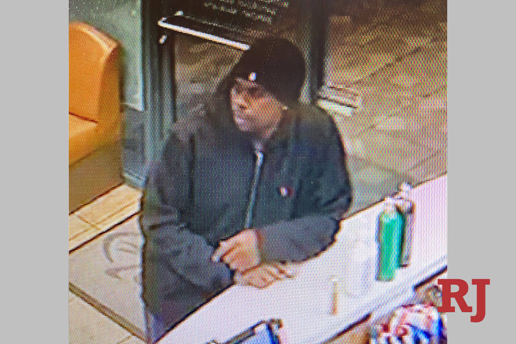 Police are looking for a man in connection to an armed robbery Tuesday, Feb. 18, 2020, on the 9 ...