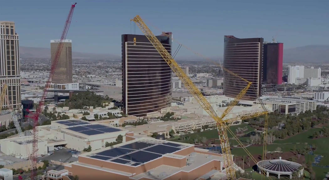 The DEMAG CC-8800, the fourth-largest crawler crane in the world, now is operating on the MSG S ...