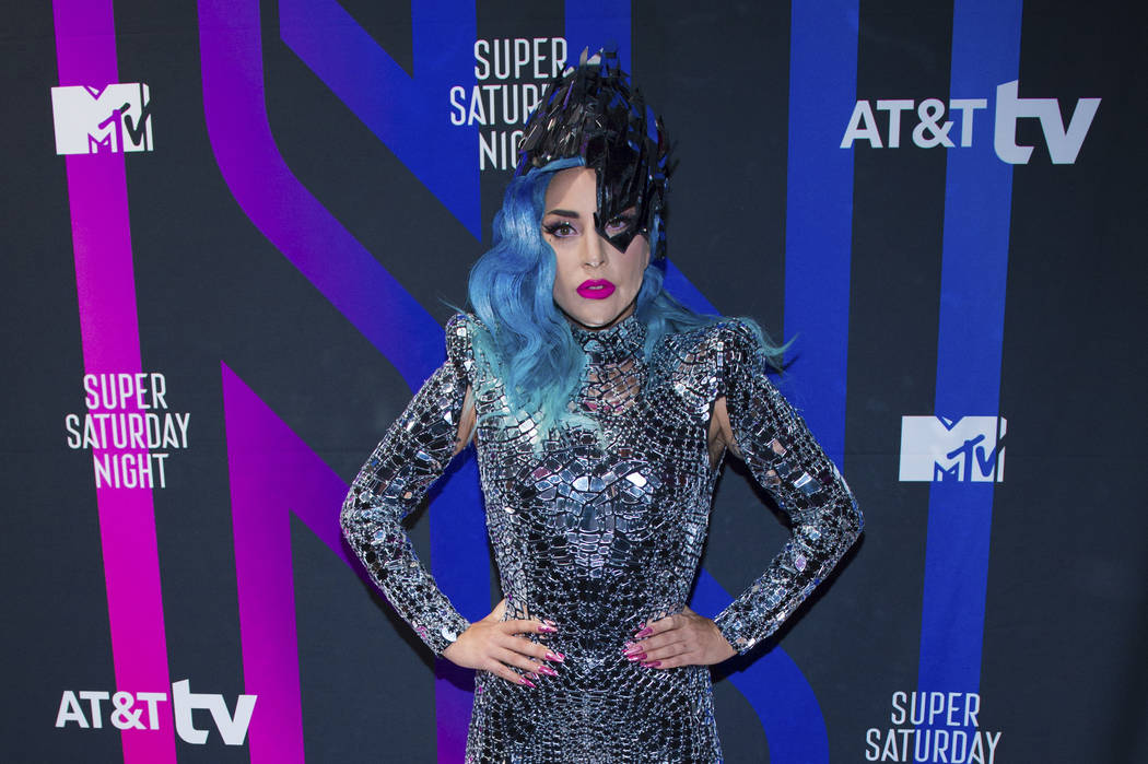 Lady Gaga attends the AT&T TV Super Saturday Night at Meridian on Island Gardens ...