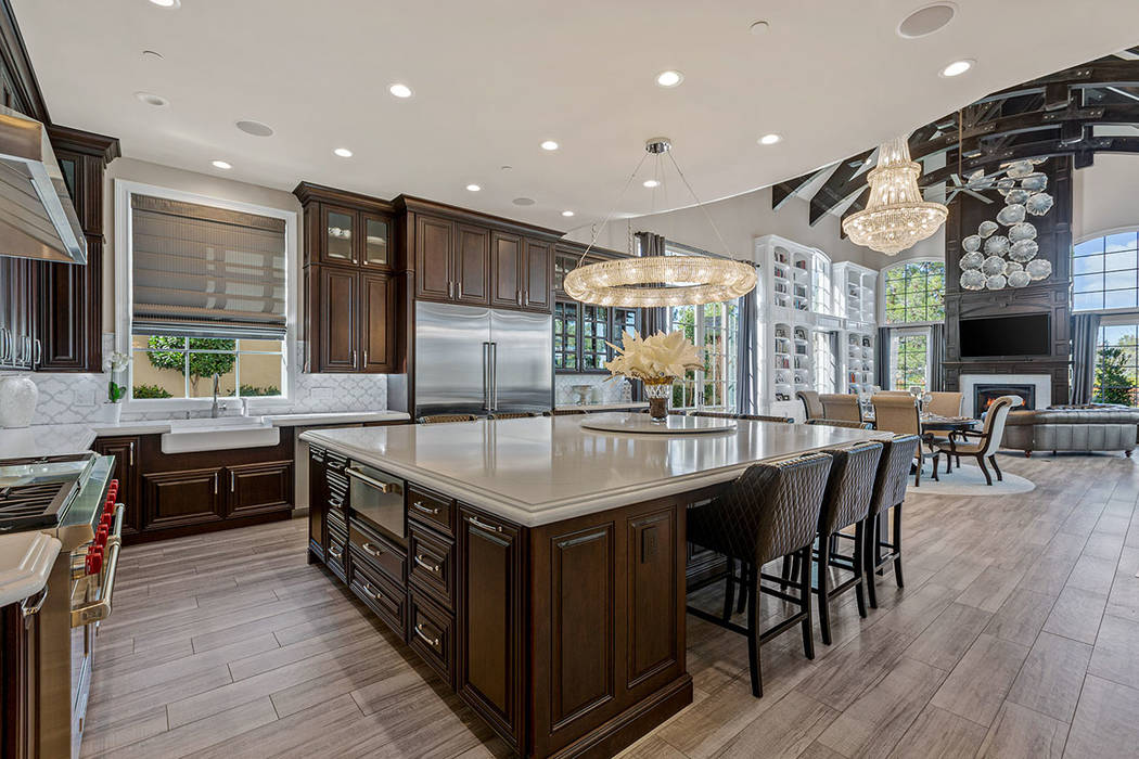 The kitchen was conceived with a busy family in mind. (Ivan Sher Group)