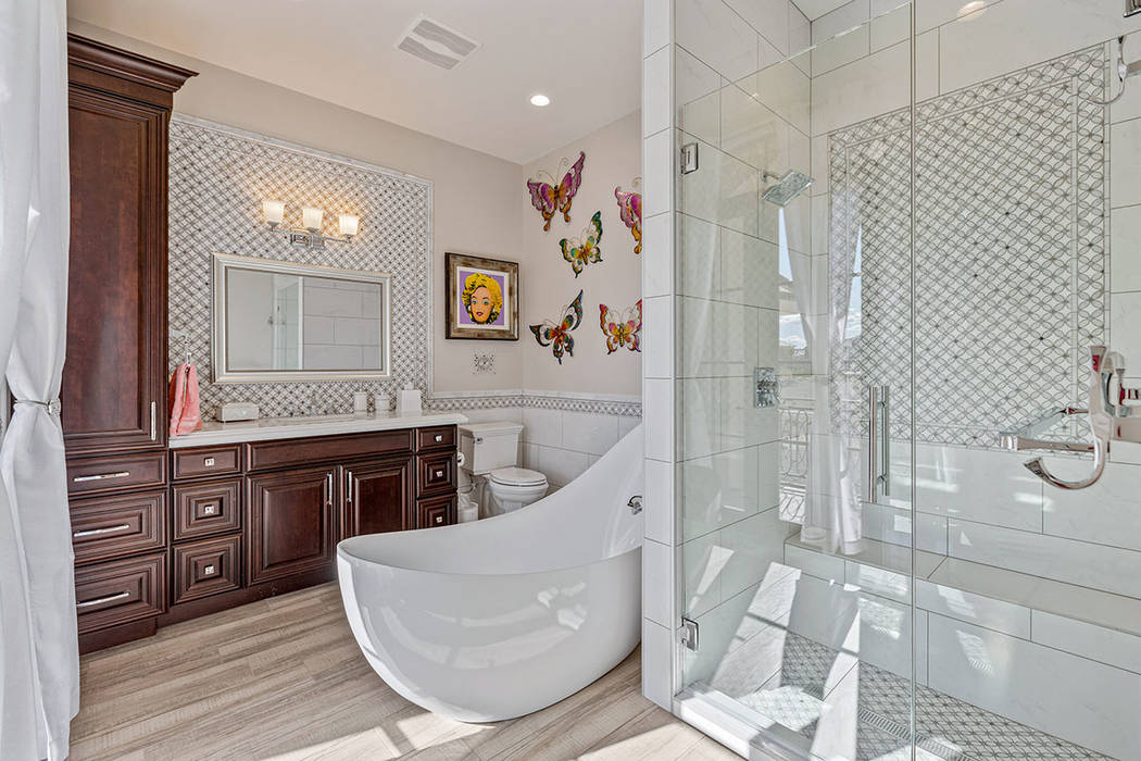 A guest bathroom. (Ivan Sher Group)