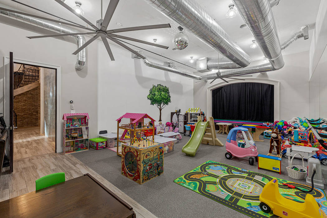The basement also has a playroom. (Ivan Sher Group)