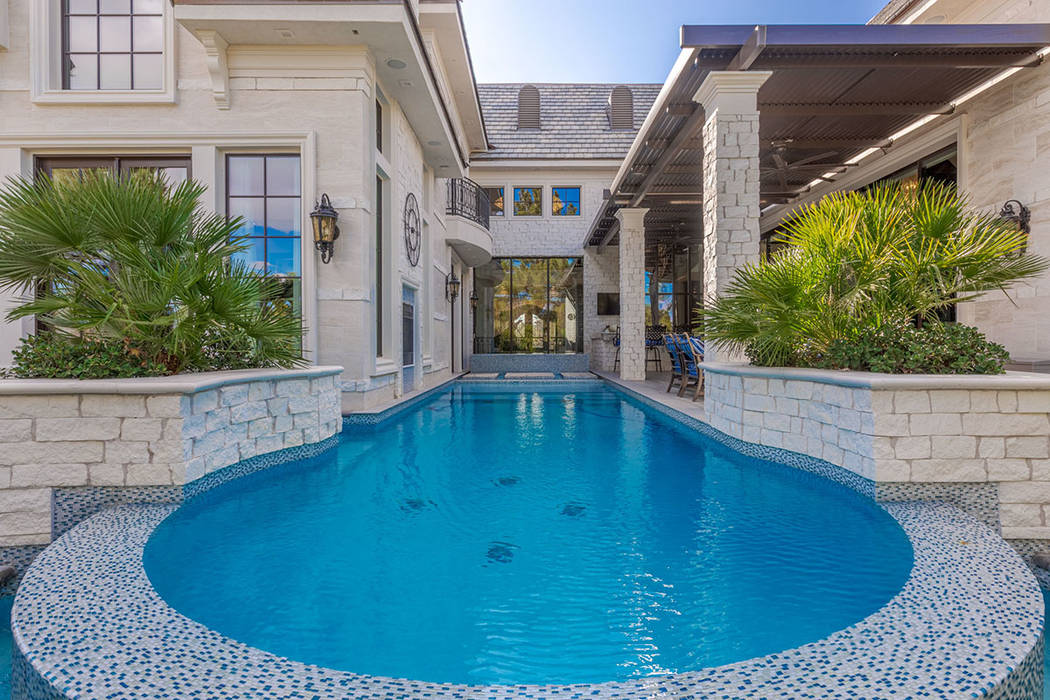 The pool leads to the back door. (Ivan Sher Group)