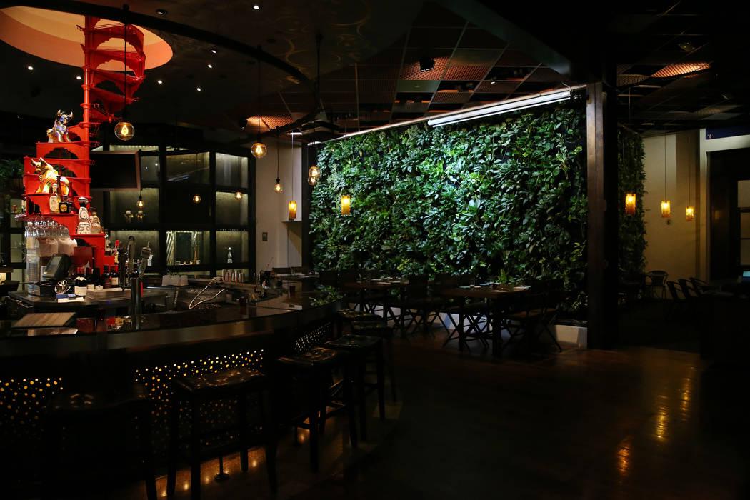 Once restaurant at the Palazzo hotel-casino in Las Vegas, Wednesday, Aug. 1, 2018. Erik Verduzc ...