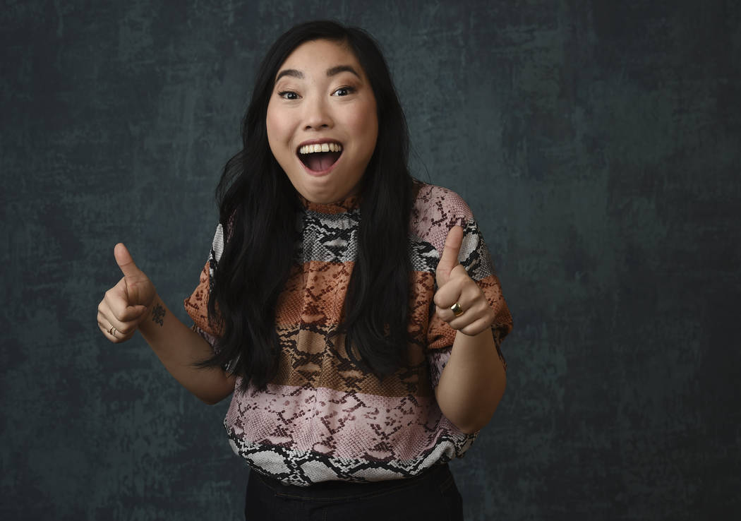 Awkwafina, born Nora Lum, the creator/writer/star/executive producer of the Comedy Central seri ...