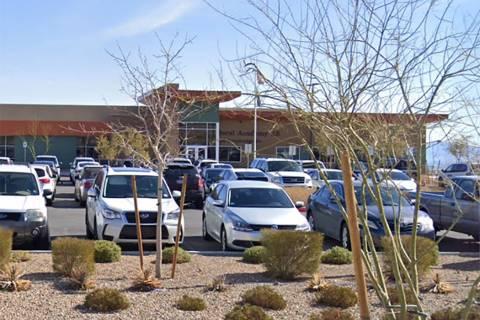 Doral Academy Red Rock Elementary School is located at 626 Cross Bridge Road in Las Vegas. (Google)