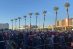 Throng of supporters gather for Trump rally in Las Vegas