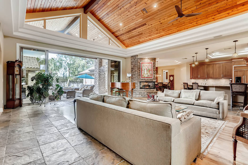 The living room. (Berkshire Hathaway HomeServices)
