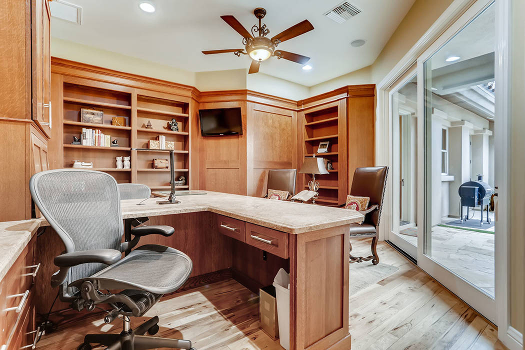 The study. (Berkshire Hathaway HomeServices)