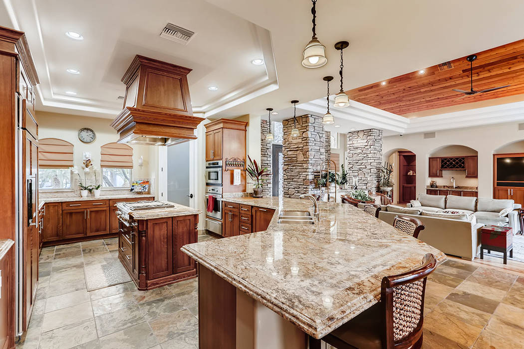 The kitchen. Berkshire Hathaway HomeServices