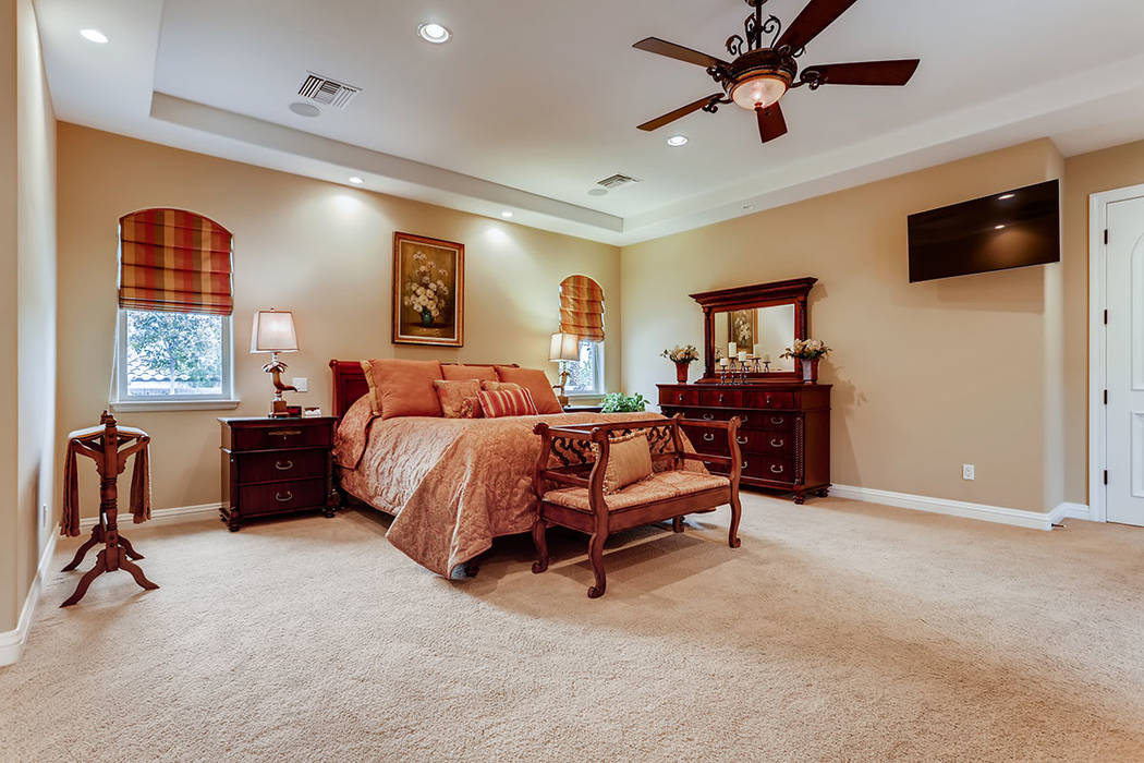 The master suite is private. (Berkshire Hathaway HomeServices)