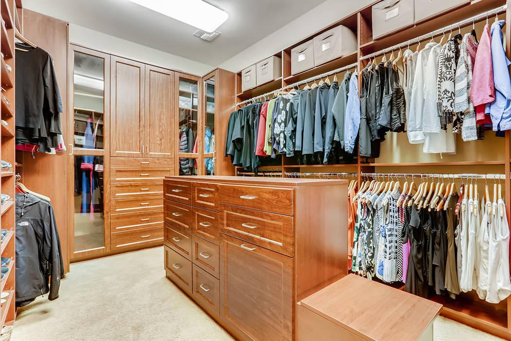 The master closet. (Berkshire Hathaway HomeServices)